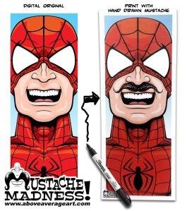 Spider-Man-Mustache-Madness