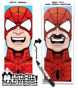 Spider-Man-Mustache-Madness